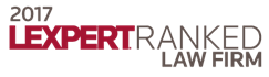 2017 Lexpert Ranked Law Firm Logo