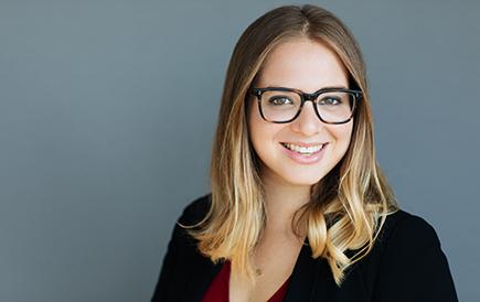Image: Caroline Elias, Tax Associate